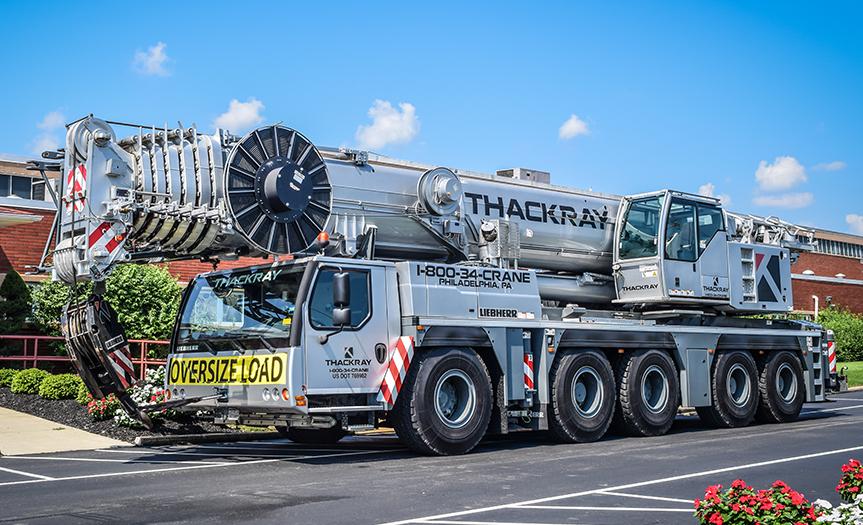 Thackray Crane All Terrain LTM1200 5.1 240 ton Liebherr crane (3)