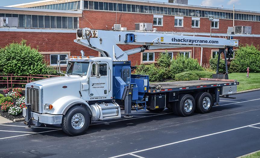 Thackray Crane Boom Truck Peterbilt (2)