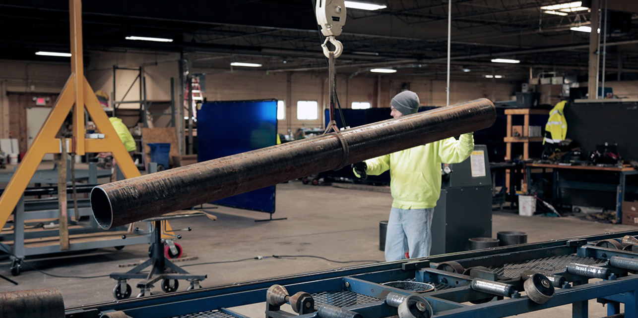 Thackray Crane Fabrication Facility Services