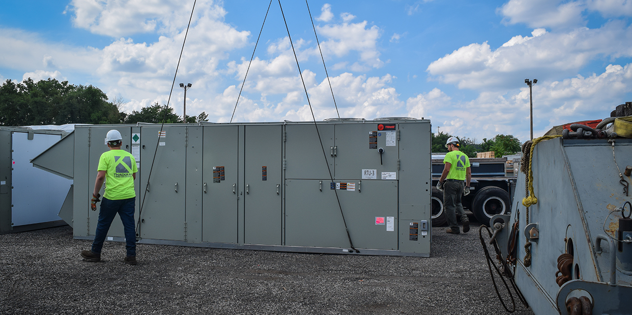 Thackray Crane Outdoor Storage