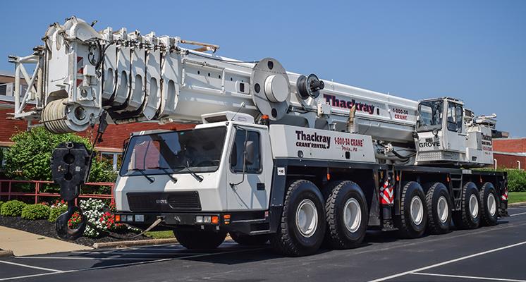 Thackray Crane All Terrain GMK 6250L 250 ton Grove crane (1)