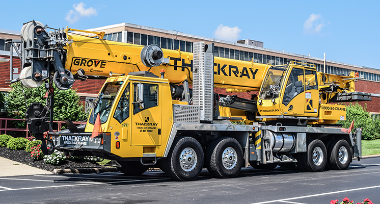 Thakcray Crane Hydraulic Truck Crane TMS9000E 110 ton Grove crane (9)